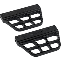 11940-0808  JOKER   FLOORBOARDS PASSENGER SERRATED BLACK 99-19 FLT/FLHT  09-13 FL Trikes, 00-17 FLST, 12-16 FLD